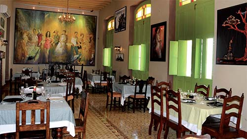 Casa Vieja Restaurant: a variety of options