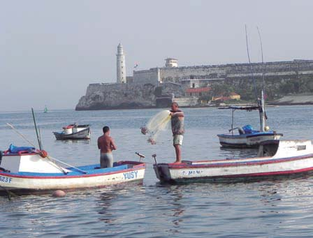 The Joy of Fishing on the Malecón