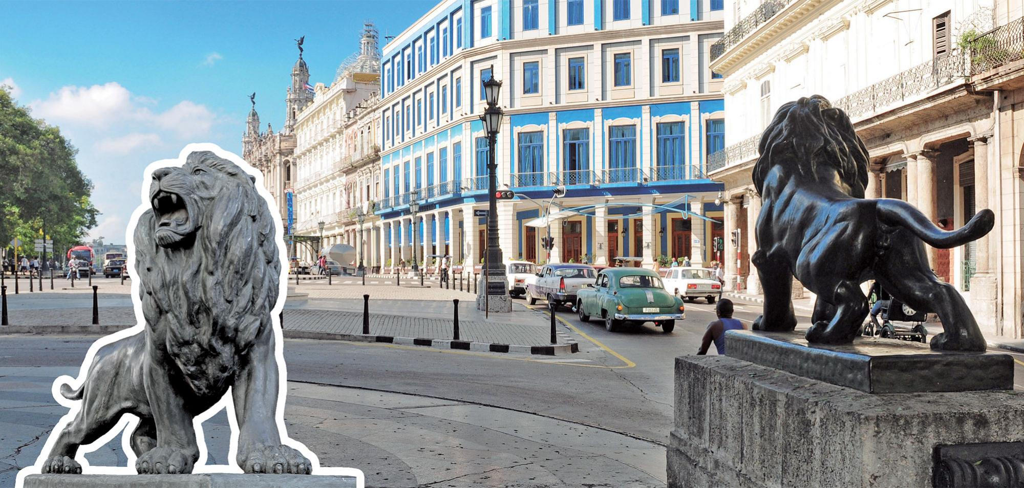 The Lions of Havana's Prado