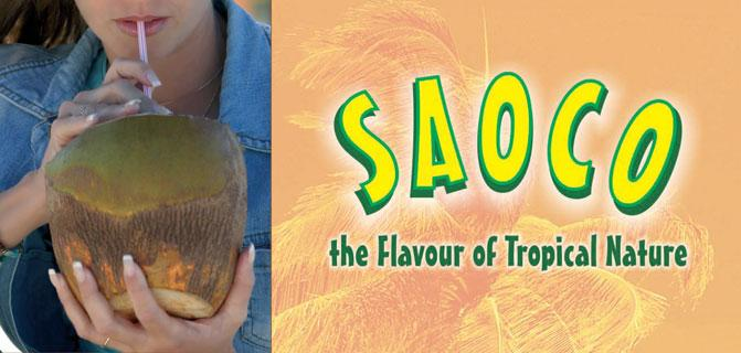Saoco, The Flavour of Tropical Nature