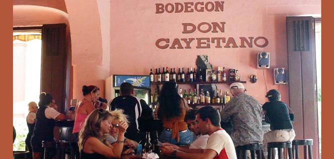 Bodegón Don Cayetano. An appealing place to visit in eastern Cuba