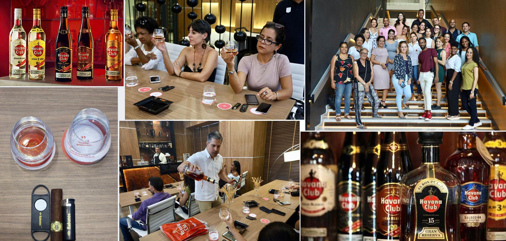 First Havana Club Course Master Class for Journalists