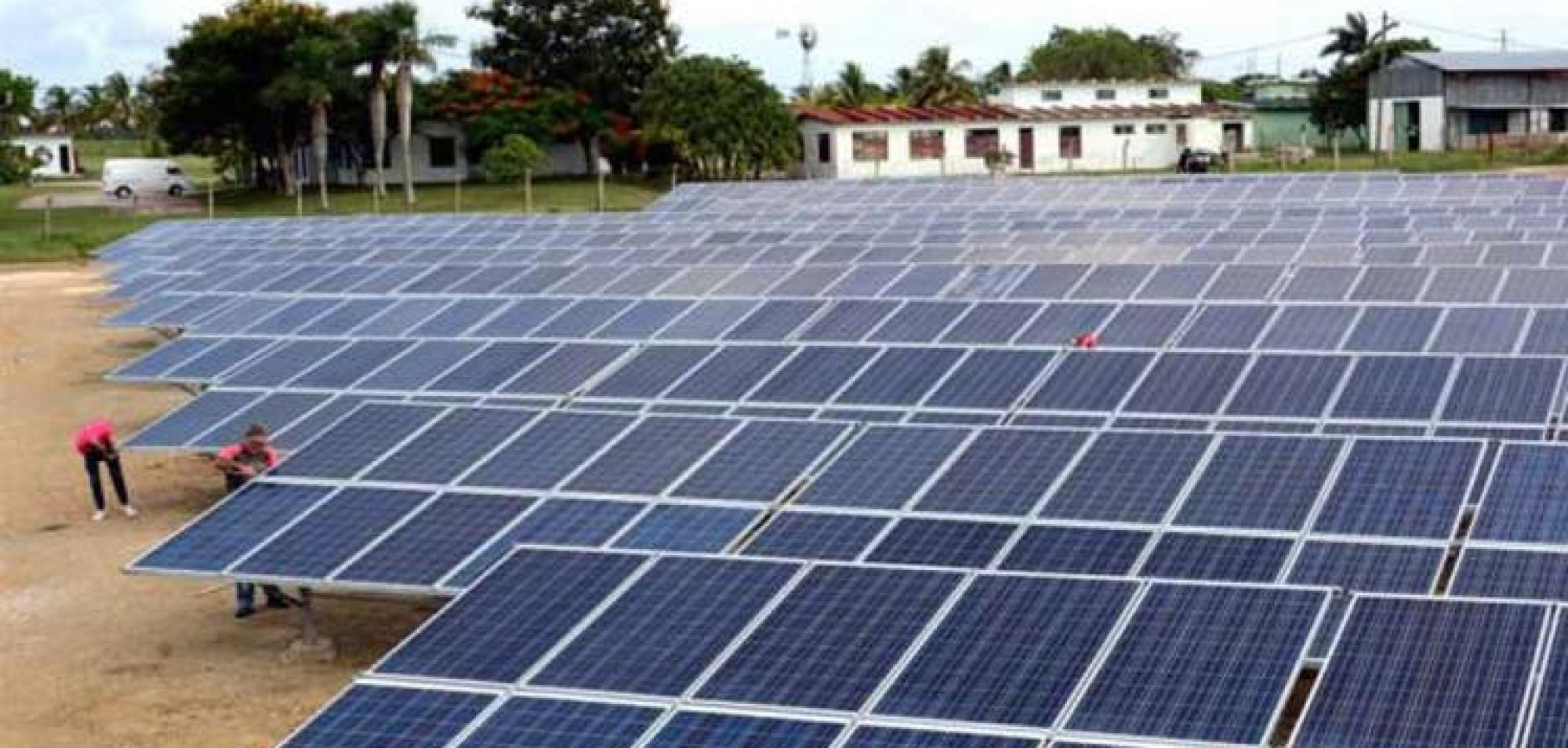 Cuba Opens New Solar Park with Foreign Funds