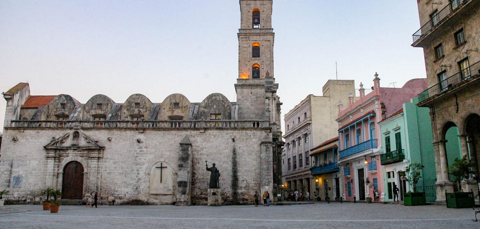 The San Francisco de Asís Square, witness to history
