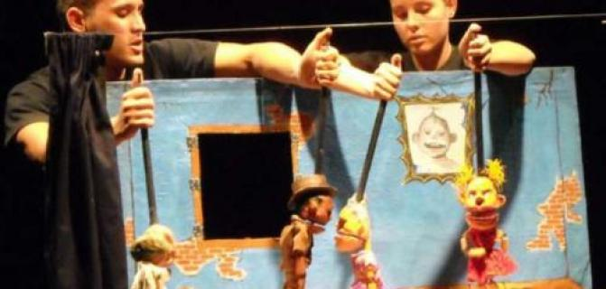 Puppets for adults enjoy their bacchanal
