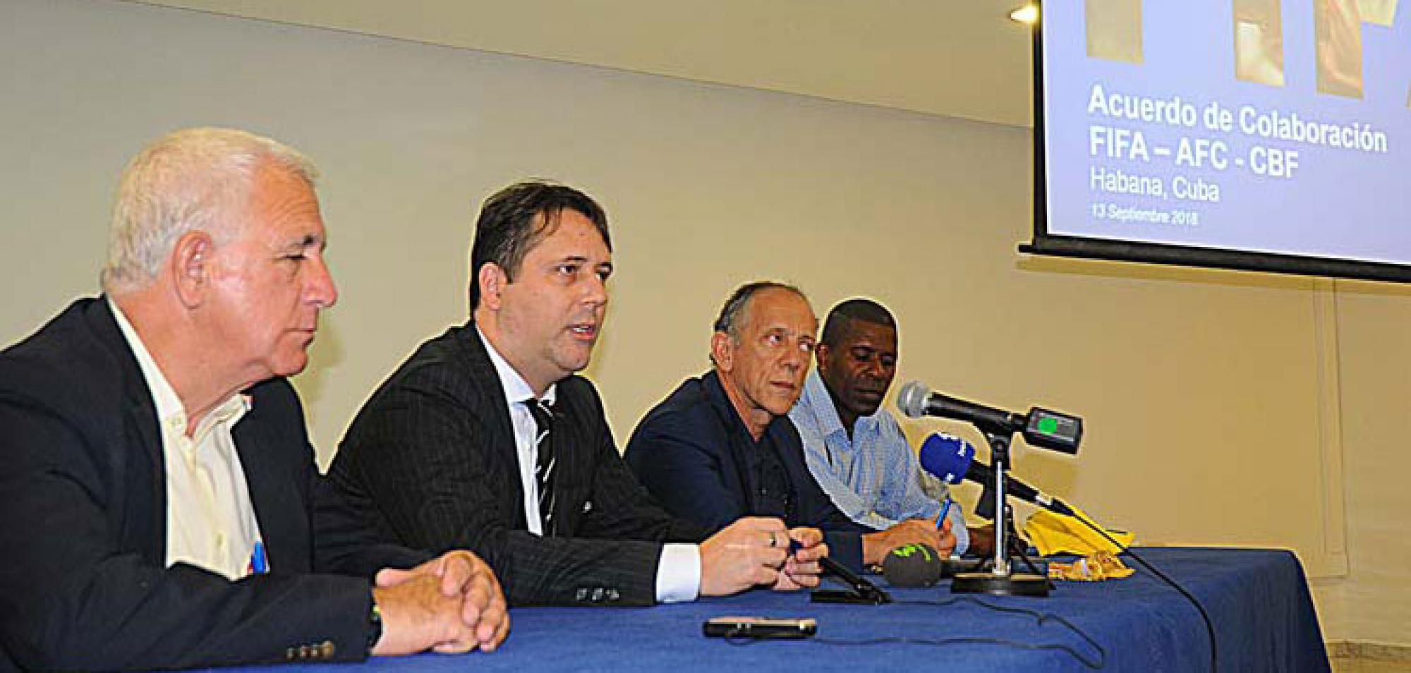 Cuba-Brazil: Agreement in Developing Soccer in Cuba