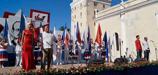 Cuba celebrates parties per day of its national culture