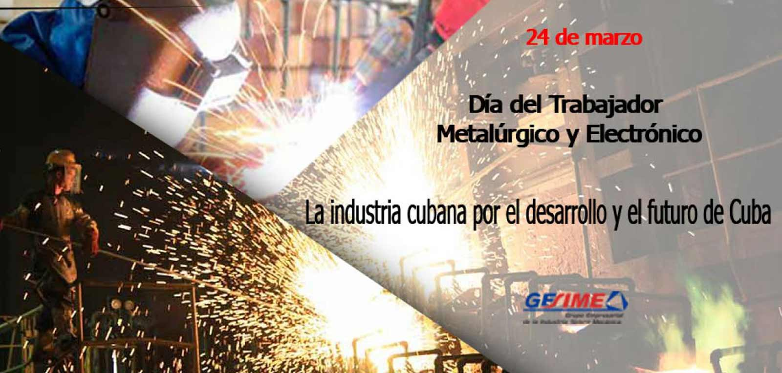 The Business Group of the Sidero Mechanical Industry (GESIME) of celebration
