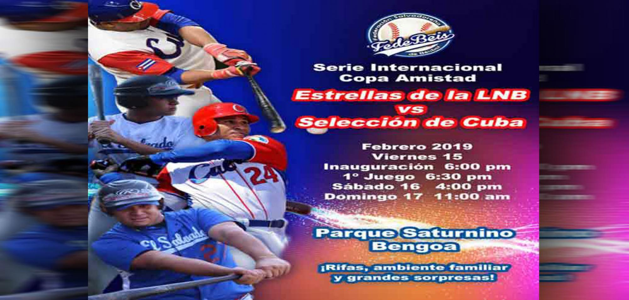 Great Expectations in El Salvador over Baseball Match with Cuba