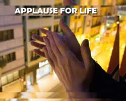 "Cuba joins ""applause for life"""