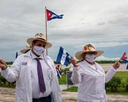 Cuban brigade Henry Reeve, 15 years making history