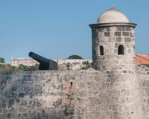 The old cannons of Havana