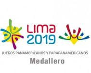 Pan-Am Medal Table at Opening Fourth Day