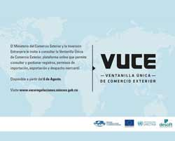 Single Window for Foreign Trade, #VUCECuba, to open  August 6