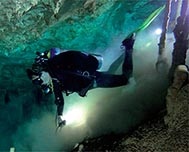 Cave Diving in Cuba - A dangerous, difficult yet fascinating activity