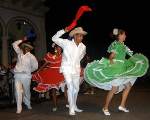 The Cuban Tap Dance, a Spanish heritage