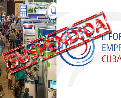 Suspended 38th edition of the International Fair of Havana